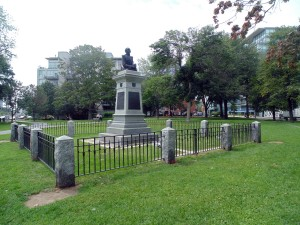 This is a solemn place. A memorial to many who died during the pe- riod of the War of 1812. Still the park is a free flowing green space worth a stroll. RIAN BURCHELL/GLEANER NEWS