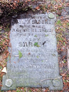Necropolis Cemetery (200 Winchester St.)is the final resting place of Bloore, his wife Sarah, and their daughter Susannah. Photo: Brian Burchell, Gleaner News