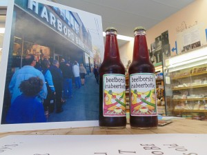 Harbord Bakery's special beet borscht beverage, developed in honour of its 70th anniversary. AXILE GERONA/GLEANER?NEWS
