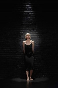 Nicky Guadagni in her one-woman show, Hooked, returning to the Theatre Passe Muraille Backspace Sept. 16 to 26. Guadagni won the 2014-15 Outstanding Performance (female) Dora Mavor Moore award for her performance. Courtesy Michael Cooper