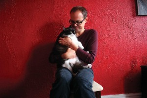 Some feral cats can be domesticated, like Ossington Avenue resident James Beaton's cat Boo. Courtesy Barbara Isherwood