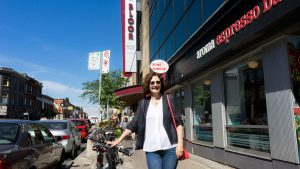 PHOTO BY NEILAND BRISSENDEN/GLEANER NEWS: Maureen Judge followed five well-educated recent graduates who are unable to find employment or paid internships for her most recent documentary, My Millennial Life.